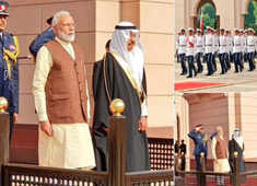 PM Modi extended ceremonial welcome in Bahrain