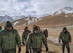 Army chief Naravane visits top posts near LAC