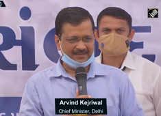 BJP, Congress scared after results of Gujarat civic polls: Arvind Kejriwal