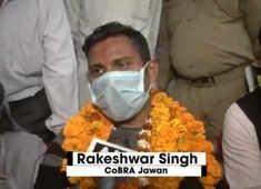 CoBRA jawan Rakeshwar Singh Manhas, released by Naxals recently, finally meets family in Jammu