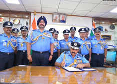 Air Marshal RKS Bhadauria takes over as new IAF chief from BS Dhanoa