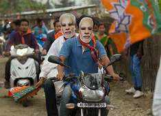 NDA to hold Hindi heartland with few losses in Uttar Pradesh: Times Now-VMR Exit Poll
