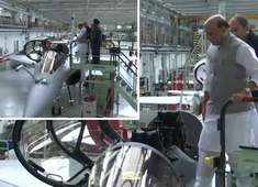 Watch: First visuals of Rafale fighter jet during handover