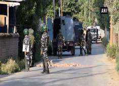 J&K: 1 terrorist neutralised in Budgam encounter