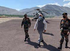 PM Modi reaches Ladakh on a surprise visit