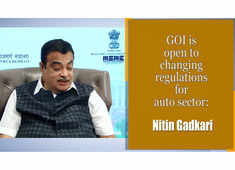 GOI is open to changing regulations for auto sector: Nitin Gadkari