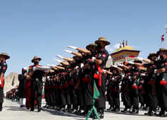 Leh-Ladakh: Passing-out parade held to mark entry of recruits in Ladakh Scouts Regiment