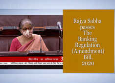 Rajya Sabha passes The Banking Regulation (Amendment) Bill, 2020