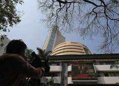 Sensex jumps 250 points, Nifty nears 11,000; RInfra gains 5%