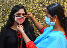 In Kerala, people are buying personalised faceprint mask