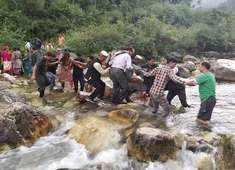 32 dead, 28 injured as overloaded bus falls in drain in HP's Kullu