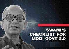 Lok Sabha election results 2019: Swami's checklist for Modi Govt 2.0