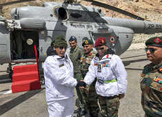 Rajnath Singh visits Siachen to review security situation