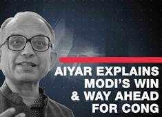 Swaminathan Aiyar explains Modi's landslide win and way ahead for Congress