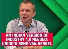 An Indian version of Industry 4.0 needed: UNIDO's René Van Berkel
