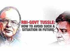 RBI-Govt tussle: How to avoid such a situation in future