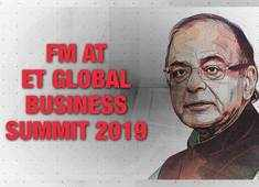 FM Jaitley at ETGBS 2019: EVM, Rafale, questions on Aadhar were fake issues