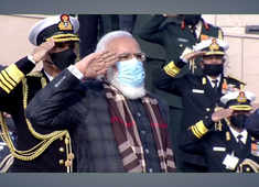 PM Modi lights up 'Swarnim Vijay Mashaal' on 50th anniversary of 1971 Indo-Pak War