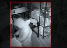 Watch: Burglar wearing PPE kit robs jewellery worth Rs 6 crore in Delhi's Kalkaji