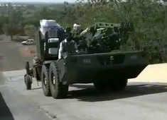 Watch: Made in India Howitzer Advanced Towed Artillery Gun System undergoing trials in Ahmednagar