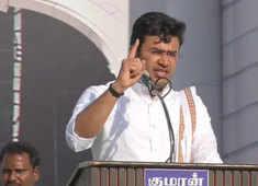 DMK's anti-Hindu ideology must be challenged: Tejasvi Surya in TN