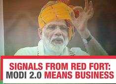 73rd Independence Day message from Red Fort: Modi 2.0 means business