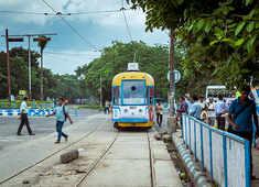 Kolkata's famous tram gets a makeover