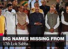 Big names missing from 17th Lok Sabha