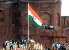 PM Modi unfurls the tricolour at Red Fort on 73rd Independence Day