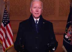 Democracy has prevailed: Joe Biden addresses public from White House