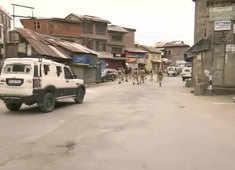 J-K: Terrorists hurl grenade at security forces in Srinagar's Nawab Bazar area, 3 injured