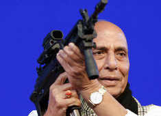 Aim to achieve Rs 1.75 lakh crore turnover by 2024 in aerospace, defence goods: Rajnath Singh