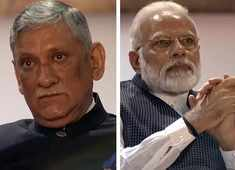 Watch: When Kargil war story made PM Modi and Army Chief emotional