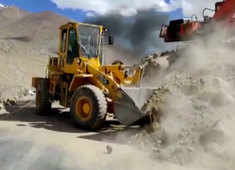 BRO making world's highest motorable road in Ladakh a double lane pass