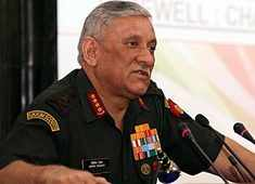 It's no longer hide and seek; will go across LoC, if we have to: General Rawat