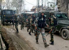 Srinagar: Two Al-Badr terrorists killed in encounter with security forces in Khanmoh area; search operation underway