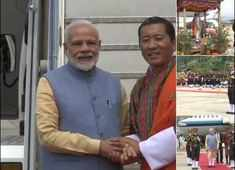 Watch: PM Modi arrives in Bhutan on two-day visit