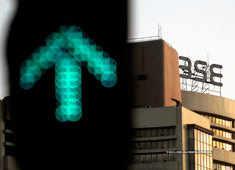Sensex rises over 180 pts, Nifty tests 10,800; bank stocks gain