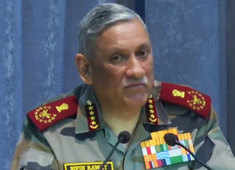 Credible deterrence comes from will of military leadership, intent of political leadership: Gen Bipin Rawat