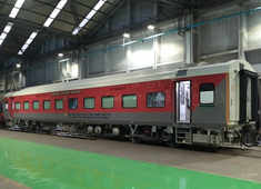 Indian Railways rolls out its first air conditioned three-tier economy class coach