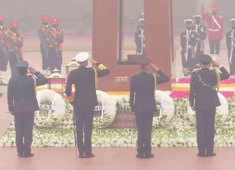 Army Day: Tri-Services Chiefs pay tributes at National War Memorial