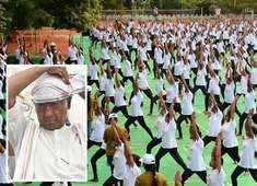 International Yoga Day: Digvijaya Singh calls it a 'media event'