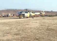 Rajasthan: Chetak helicopter makes precautionary landing in Karauli