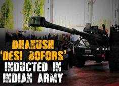 Watch: Dhanush 'Desi Bofors' inducted in Indian Army