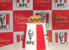Madame Tussauds welcomes its new entrant -- a burger
