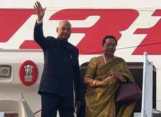 President Ram Nath Kovind embarks on 7-day visit to Philippines, Japan