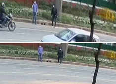 Israel Embassy blast: NIA releases CCTV video of 2 suspects, announces reward for information