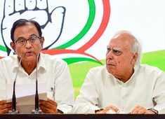 Kapil Sibal condemns Chidambaram's arrest, asks isn't a citizen entitled to be heard?