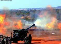 Indian army targets terror camps in PoK, artillery guns inflict heavy damage