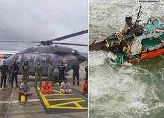 Cyclone Tauktae: Indian Navy engages in search and rescue missions along western coast